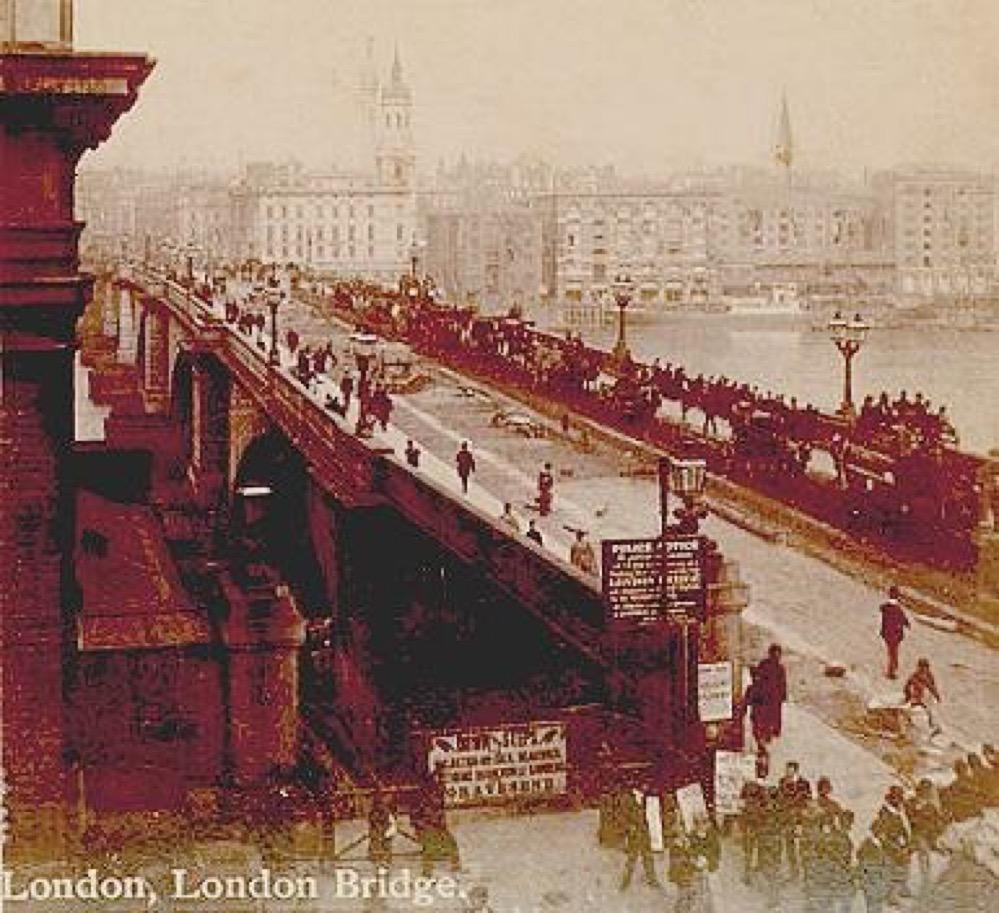 Cuando Londres vendió su puente