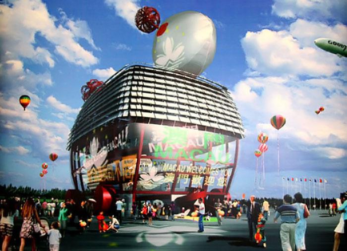 El pabellón de Macao en Shangai 2010 1