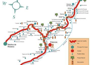 Recuperado el Canal de Castilla