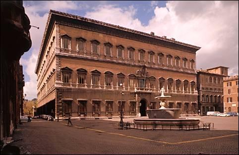 El Palacio Farnesio de Roma abre al público hasta abril