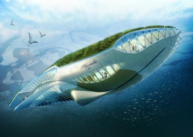 Physalia, la medusa de titanio para limpiar los ríos