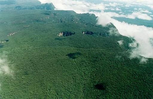Las simas del Parque Nacional de Jaua-Sarisariñama