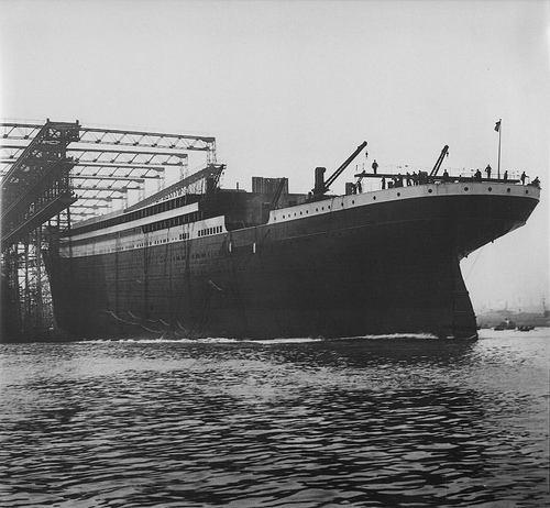 Cien años de la botadura del Titanic
