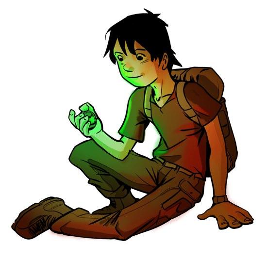 Ged, el portador de la Brújula Verde