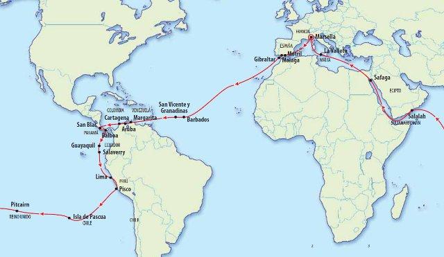 La vuelta al mundo en 127 días 1