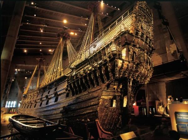 Vasa: del fondo del mar al museo