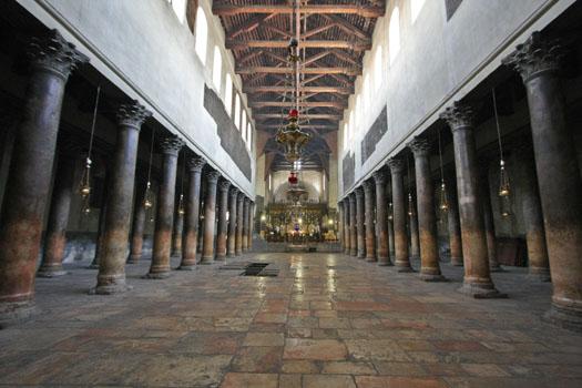La Basílica de la Natividad en Belén 1