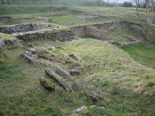 Restos romanos de Julióbriga