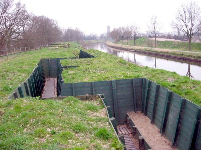 Campos de batalla: los canales holandeses 1