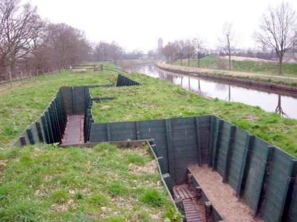 Campos batalla canales holandeses