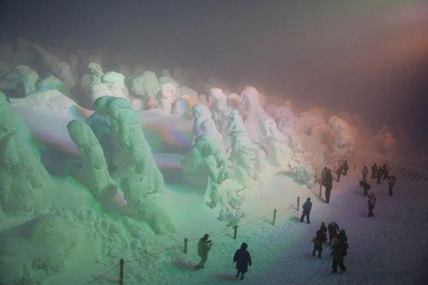Los monstruos de hielo de Japón