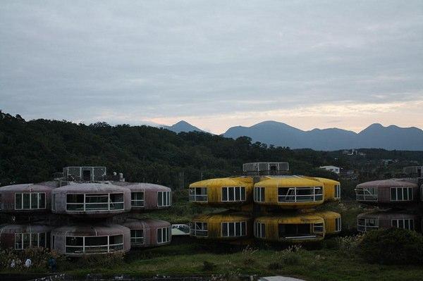 Las abandonadas «casas extraterrestres» de Taiwan