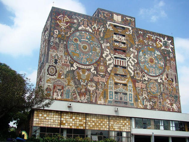 Universidad Autónoma de México, Patrimonio de la Humanidad