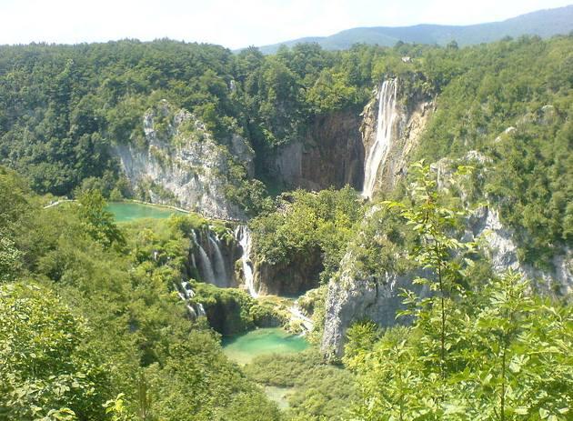 El Parque Nacional de los Lagos de Plitvice