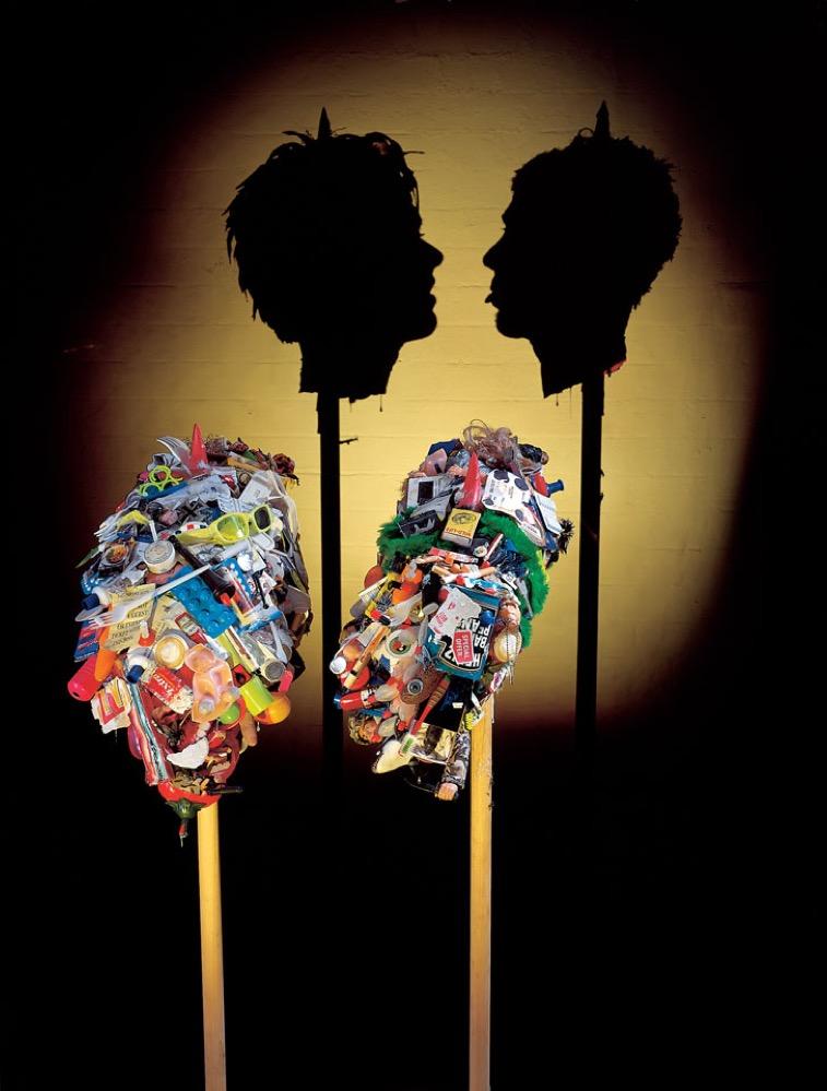 Cómo crear arte con la sombra de la basura