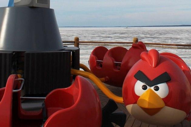 Un parque temático de Angry Birds en Finlandia