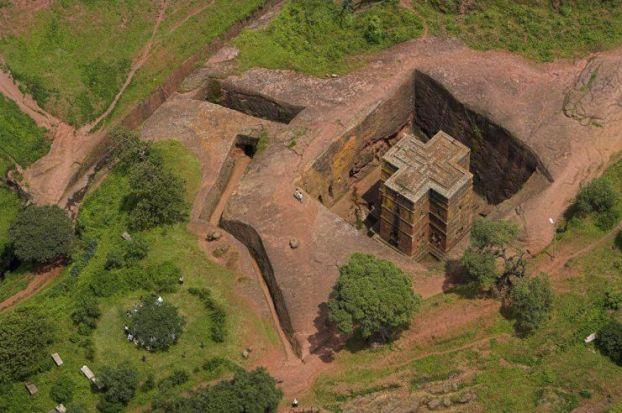 Los sorprendentes templos cristianos de Lalibela en Etiopía