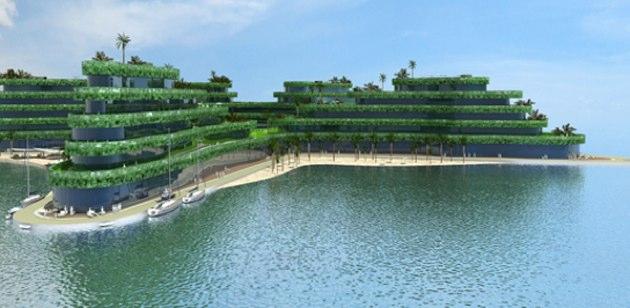 El nuevo hotel flotante de Maldivas