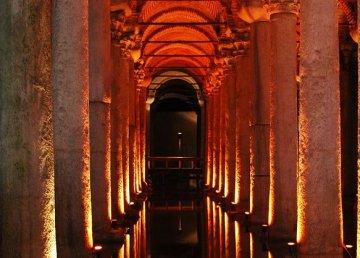 El Palacio Sumergido de Estambul