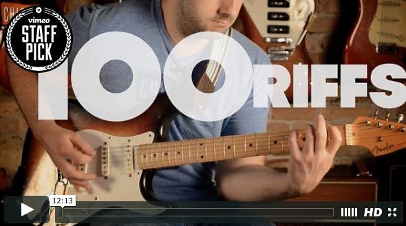 La historia del Rock en 100 Riffs (Video)