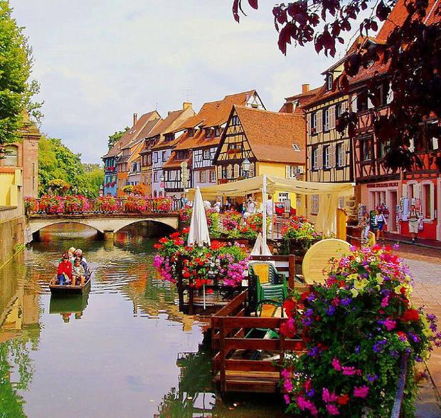 Alsacia, mitad Francia y mitad Alemania