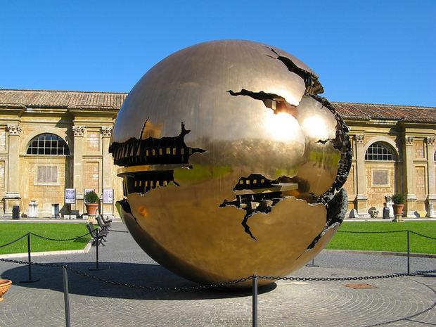 Las esferas concéntricas del Vaticano