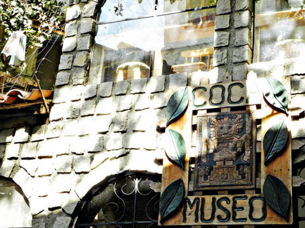 El Museo de la Coca en La Paz