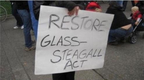 Sobre la ley Glass-Steagall y los movimientos para recuperarla