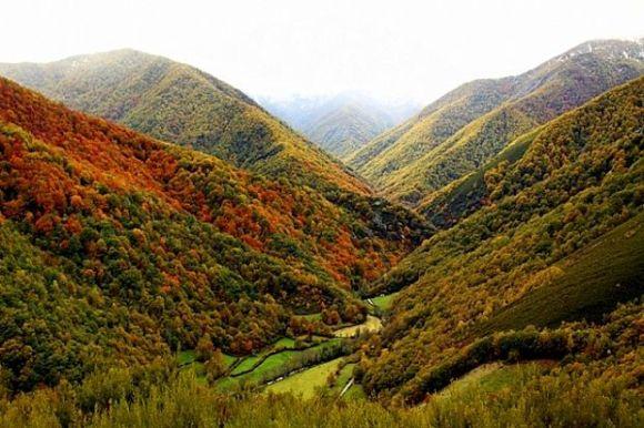 Asturias colores otoño