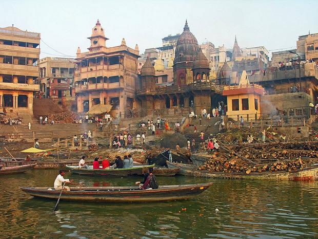 La simbiosis religiosa entre Benarés y el Ganges