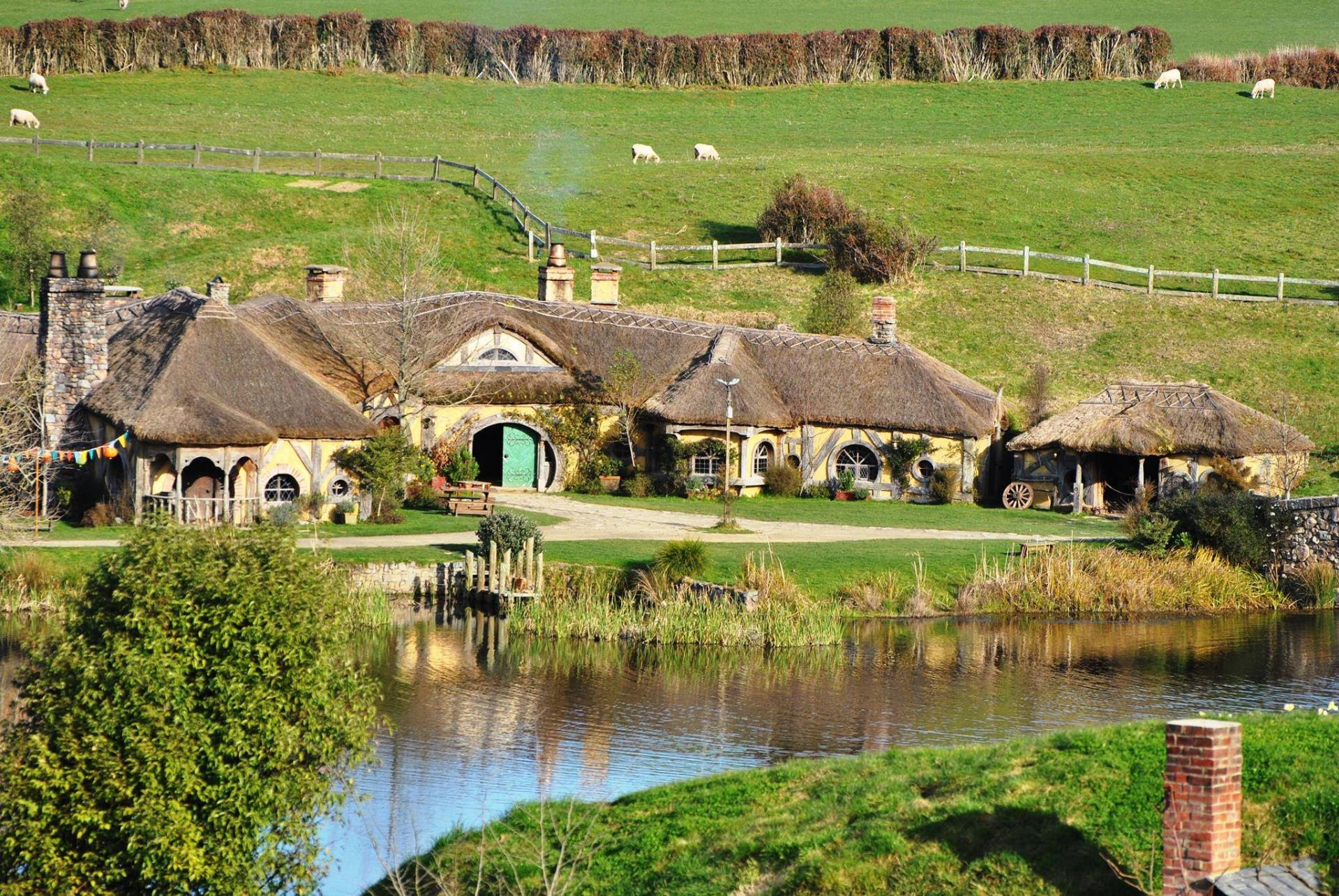 Abre en Nueva Zelanda el Green Dragon, un pub hobbit