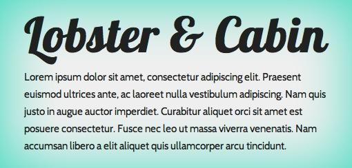 10 buenas combinaciones de tipografías que puedes copiar