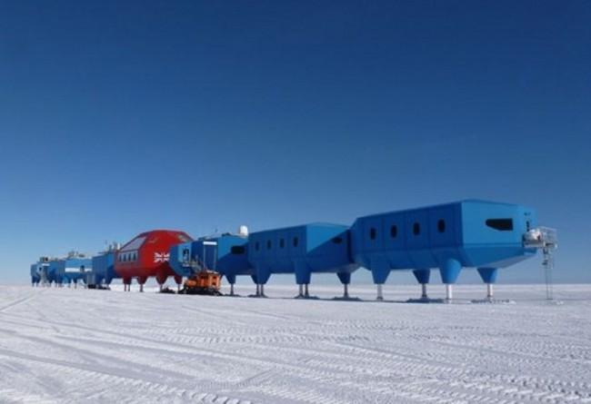 Halley VI, una estación sobre patines en la Antártida