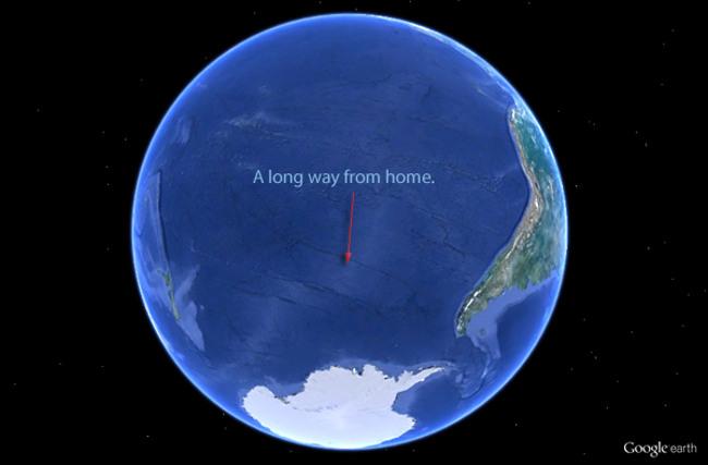 Punto Nemo, el lugar más aislado del mundo