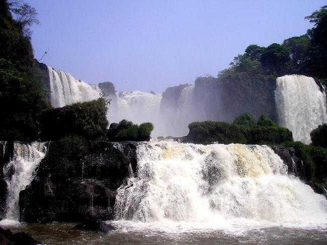 Los Saltos del Monday paraguayos