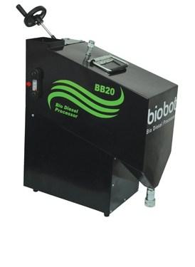 Biobot, una máquina para transformar el aceite de cocina usado en biodiésel