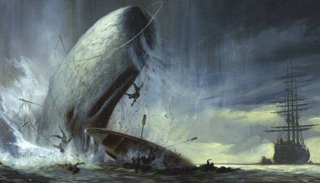 El hundimiento del Essex: el horror que inspiró a Melville y Poe