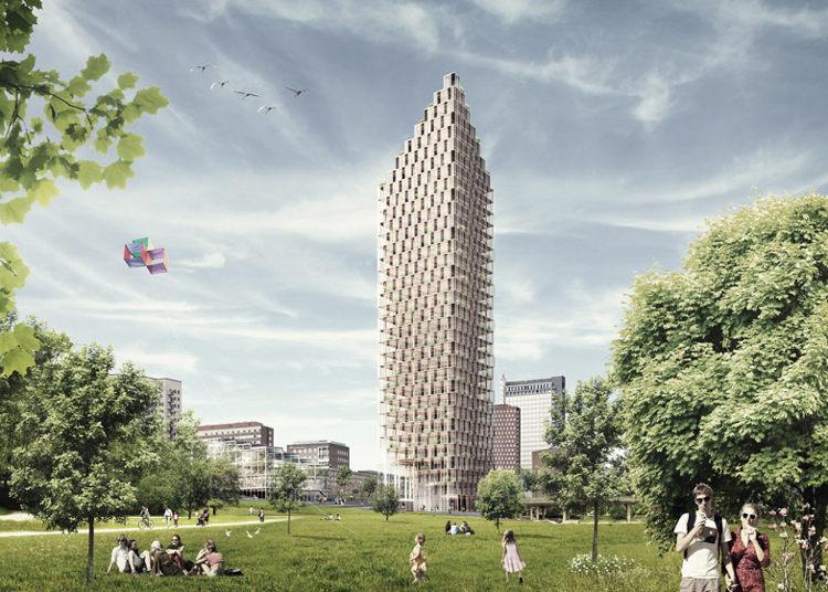 Estocolmo tendrá el mayor rascacielos de madera del mundo