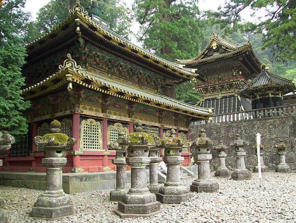 Templos mausoleos Nikko