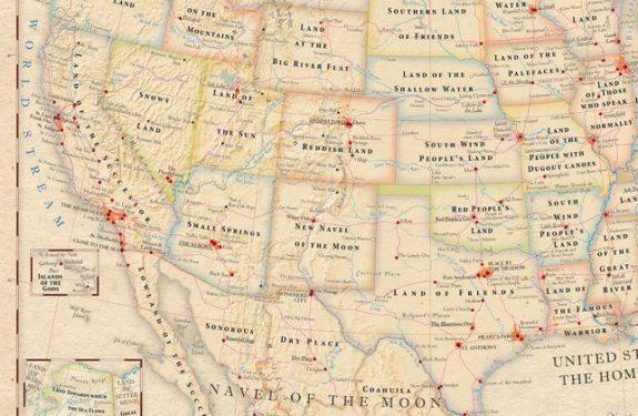 Mapas del mundo con los significados literales de los sitios 1