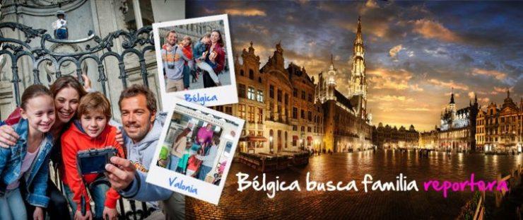 Vacaciones gratis Bélgica familias reporteras
