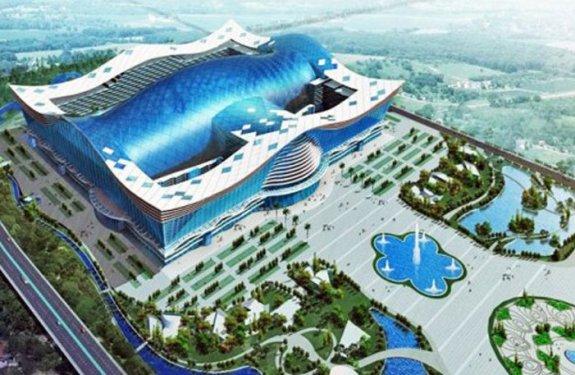 Abre en China el edificio más grande del mundo