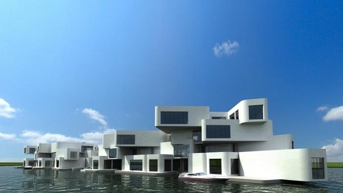 The Citadel, los primeros apartamentos flotantes del mundo
