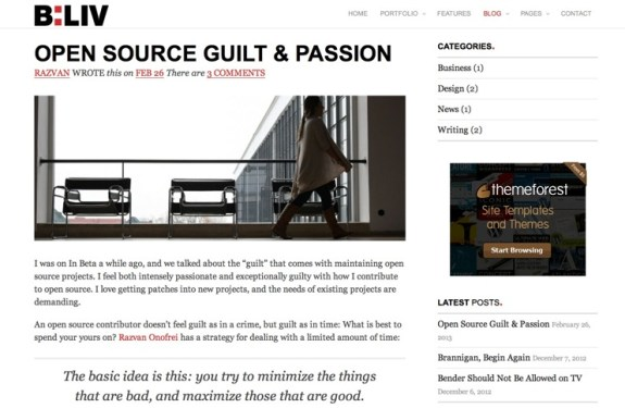 Themes Premium de WordPress - Abril 2013