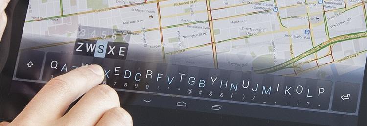 Minuum, un teclado virtual para cualquier tipo de dispositivo