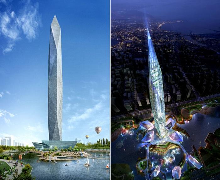 Planean construir el primer rascacielos invisible del mundo 1