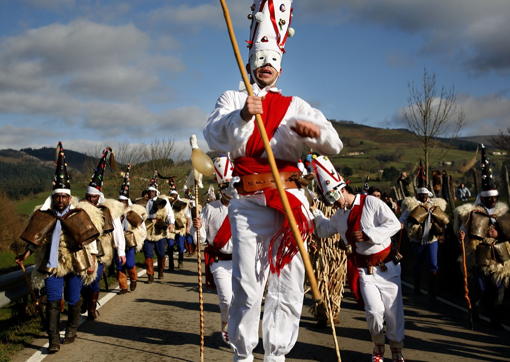 La Vijanera, una fiesta bimilenaria
