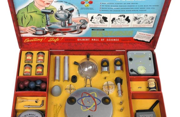 U-238 Atomic Energy Lab, el kit infantil con uranio 1