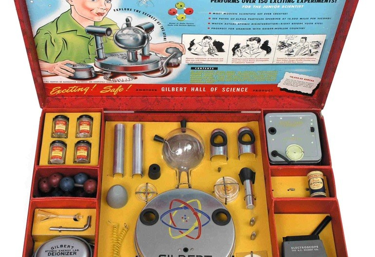 U-238 Atomic Energy Lab, el kit infantil con uranio 1