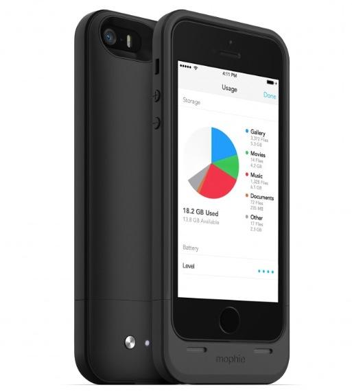 Mophie Space Pack, la batería con almacenamiento adicional para iPhone